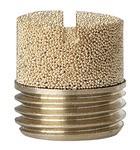 Sinterbronce-Schalldämpfer, Schlitz, G 3/4, max. 10 bar