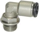 L-Steckverschraubung »click-clock«, drehbar, M5 außen, Ø 4 mm