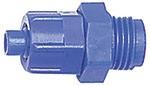 Gerade Einschraubverschraubung G 3/8 a., f. Schlauch 10/8 mm, POM