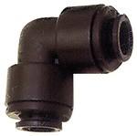 Winkelverbinder POM, für Schlauch-Außen-Ø 4 mm