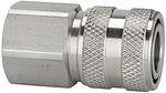 Schnellverschlusskupplung NW 7,2, Edelstahl 1.4305, G 1/2 IG