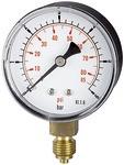 Standardmano »pressure line« G 1/8 unten, 0-10,0 bar/145 psi, Ø40