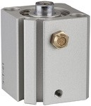 Kurzhubzylinder »ASQ« einfachwirkend, Kolben-Ø 20, Hub 15, M5x0,8