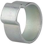 1-Ohr-Schl.klemme, Stahl glanzverz. (W1), Spannbe. 10-12mm, 6,5mm