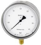 Feinmessmanometer, G 1/2 radial unten, 0 - 0,6 bar, Ø 160