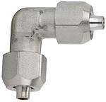 Winkelverbinder, für Schlauch 10/8 mm, Edelstahl 1.4404