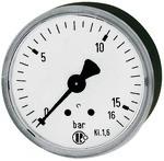 Standardmano, KS-G., G 1/4 hinten zentrisch, 0 - 6,0 bar, Ø 63