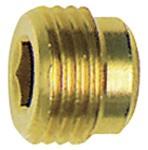 Verschlussschraube, Innensechskant, ohne Bund, G 1/4, SW 6, MS