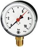 Standardmanometer, Kunststoffgeh., G 1/2 unten, 0-4,0 bar, Ø 100