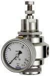 Edelstahl-Druckregler, 1.4401, BG 1, G 1/4, 0,4 - 4,0 bar